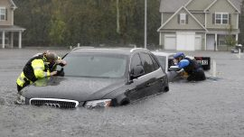 Florence Swells Rivers Toward Record Levels, 17 Confirmed Dead