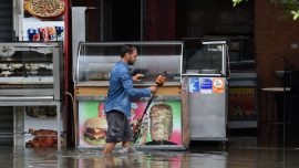 Bridge Crumbles as Deadly Floods Hit Tunisia and Kill Five