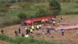 Children Among 50 Dead in Kenya Bus Crash Amid Claims of Overloading