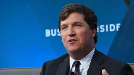 Man Who Allegedly Used Slurs Against Tucker Carlson's Daughter on Board for Women's Group