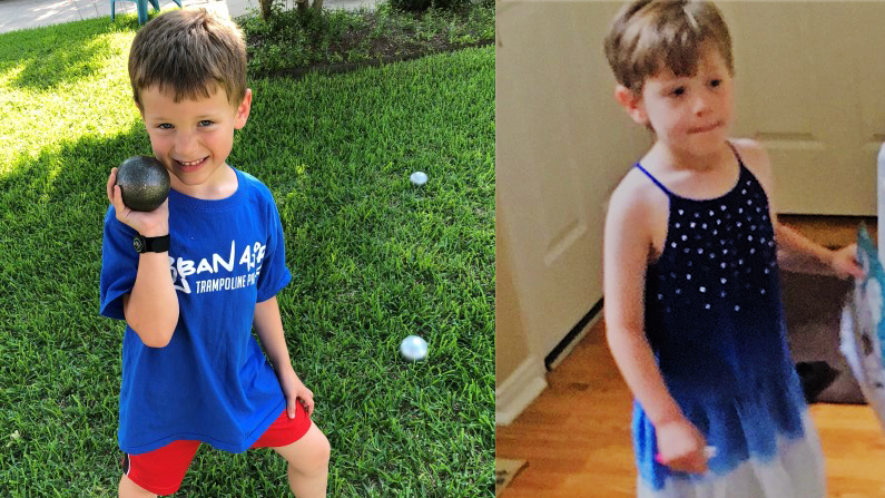 Mother Allegedly Forces Son to Dress as Girl, Dad's Rights at Risk for Offering Choice