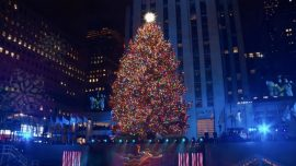 Sprucing up NYC: Rockefeller Center Lights Christmas Tree