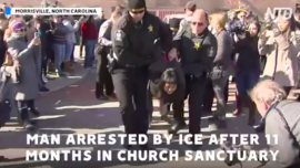 More Than 20 Arrested After ICE Detains Undocumented Mexican Man, Samuel Oliver-Bruno, Who Hid in Church for 11 Months
