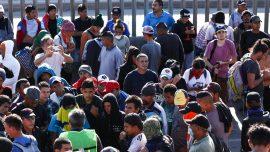 Migrant Caravan Members Have Been Breaking Into People's Homes