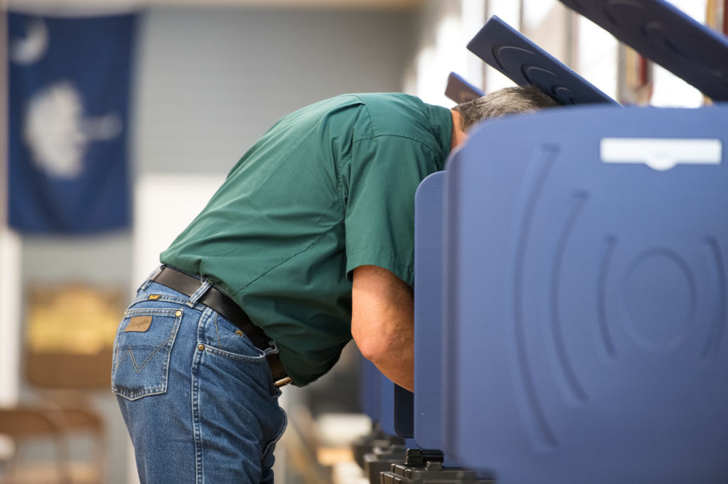 South Carolina voting file photo
