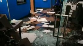 Video: Anchorage News Station Damaged by Alaska Earthquake