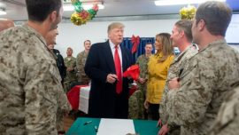 Air Force Says Nothing Wrong With Airmen Getting Pro-Trump Hats Signed