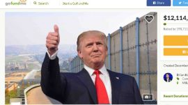 GoFundMe for Trump's Border Wall Hits $12 Million After 200,000 People Donate