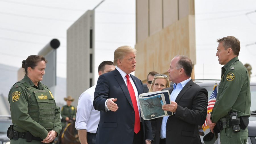 DoD Official: Trump Can Use Military to Build Wall Without National Emergency