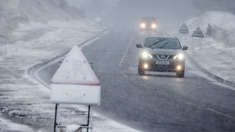 Police Share 'Ridiculous' Driver's 115 mph Ticket on Snowy Road to Warn Others