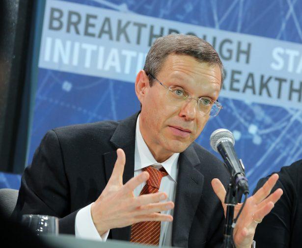 Avi Loeb speaks at press conference