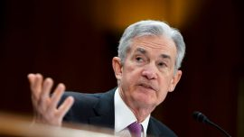 Fed's Powell Says 'No Rush' to Hike Rates in 'Solid' but Slowing Economy