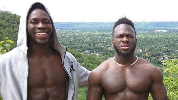 Abel Osundairo, left, and his brother Ola Osundairo