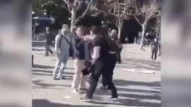 Video Shows Man Punching Conservative Activist, Police Seek Suspect