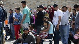 Border Patrol Rescues 5 in Texas Near Where Caravan Waits