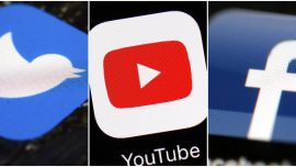 YouTube, Twitter Against Trump