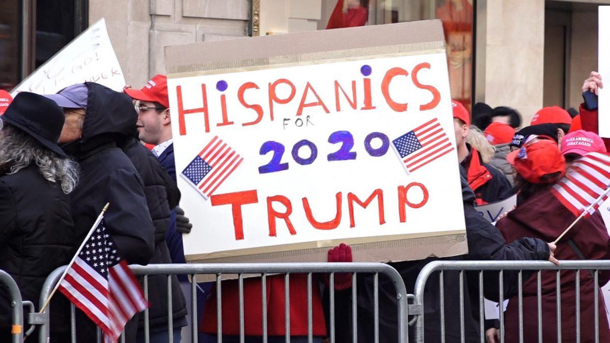Hispanics for trump