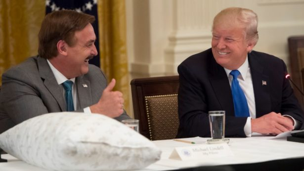 Michael Lindell and Donald Trump