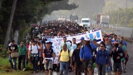 20,000-Member 'Mother of All Caravans' Forming in Honduras, Says Mexico