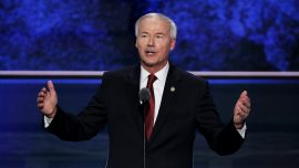 Arkansas Governor Says State's Near-Total Abortion Ban Designed to Challenge Roe v. Wade