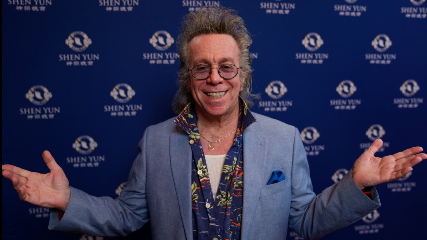 Shen Yun Transmits 'Beautiful Positive Energy' to Audience: Well-Known Comedian