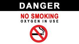 Wheelchair-Bound Man Smoking While Using Oxygen Suffers Fatal Burns