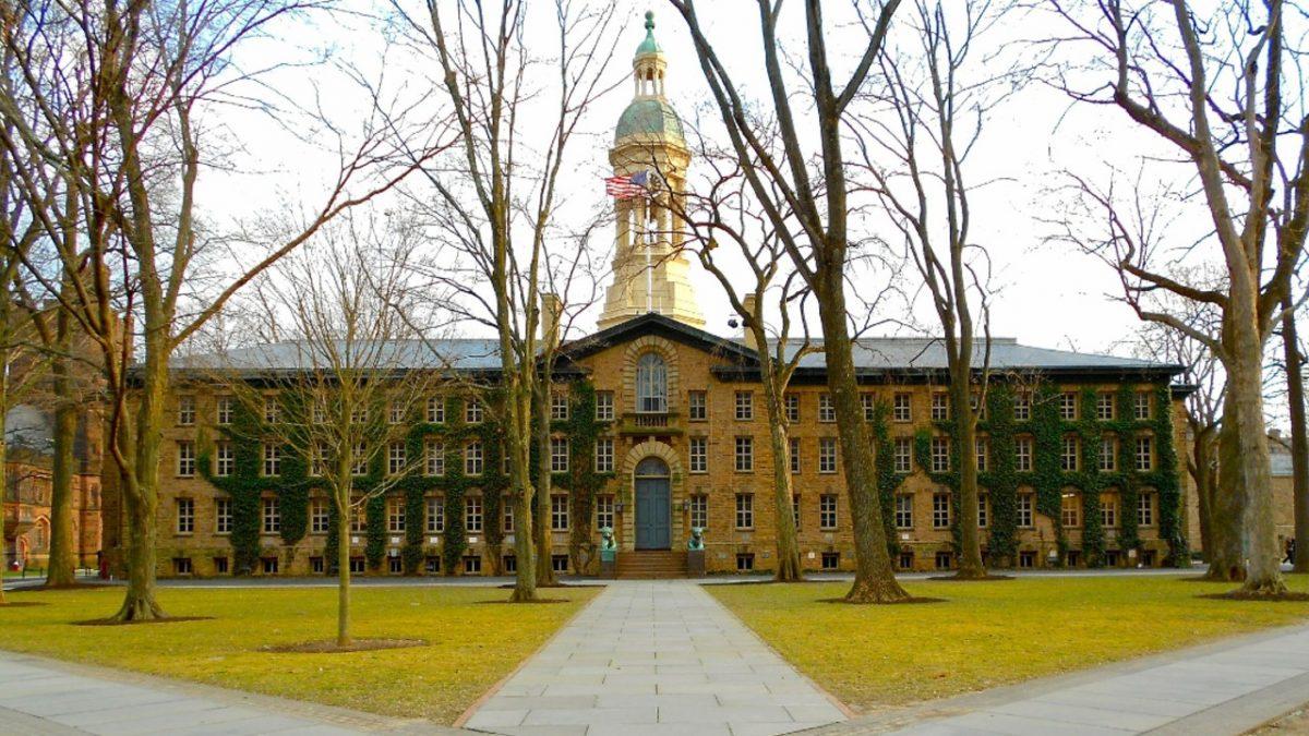 Nassau Hall, Princeton University.