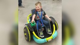 High School Robotics Team Builds Customized Car for 2-Year-Old With Genetic Condition