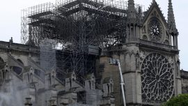 Macron Wants Fire-Ravaged Notre Dame Rebuilt Within 5 Years