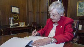 Alabama Gov. Kay Ivey Signs Law Banning Curbside Voting