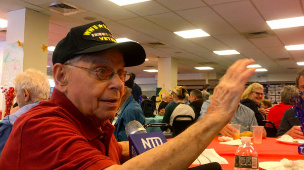 World War II veteran Arthur Grabiner