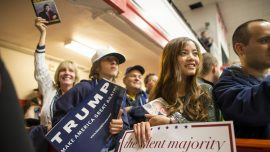 Polls Show a Majority of Millennials Supporting Trump