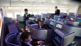 United Airlines Covers Inflight Entertainment Cameras Due to Privacy Concerns