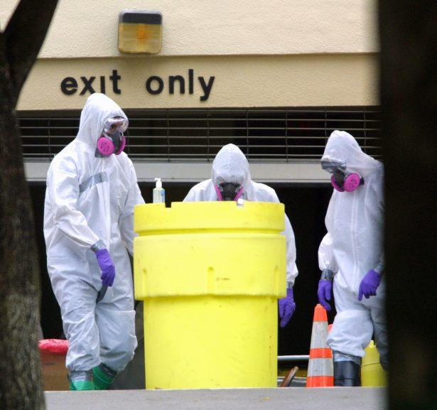 anthrax spores investigation