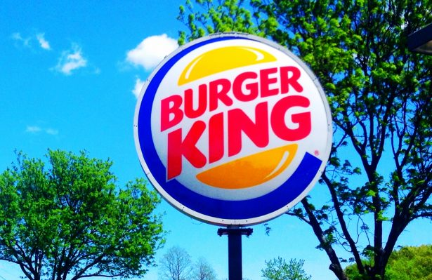 A picture of the Burger King Signage.