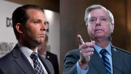 Sen. Lindsey Graham Says Donald Trump Jr. Should Ignore Subpoena