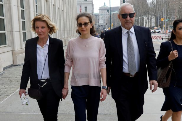 Clare Bronfman arrives at court