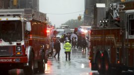 Helicopter Crashes Into Building in New York City, Pilot Killed