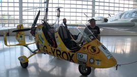 Oregon Man Sets Record, Completes 9-year Trek Around the Globe in a Gyrocopter