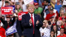 Trump Announces 2nd Rally Since Departing White House