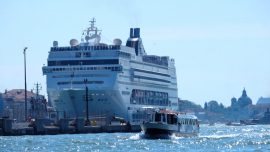 Cruise Ship Almost Crashed Into Yacht in Venice Lagoon