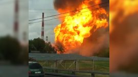 Major Fire Breaks out at Power Station in Moscow Region: TASS