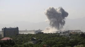 Taliban Bombing in Afghan Capital Kills 6, Wounds at Least 100