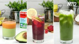 3 Homemade Healthy Energy Drinks
