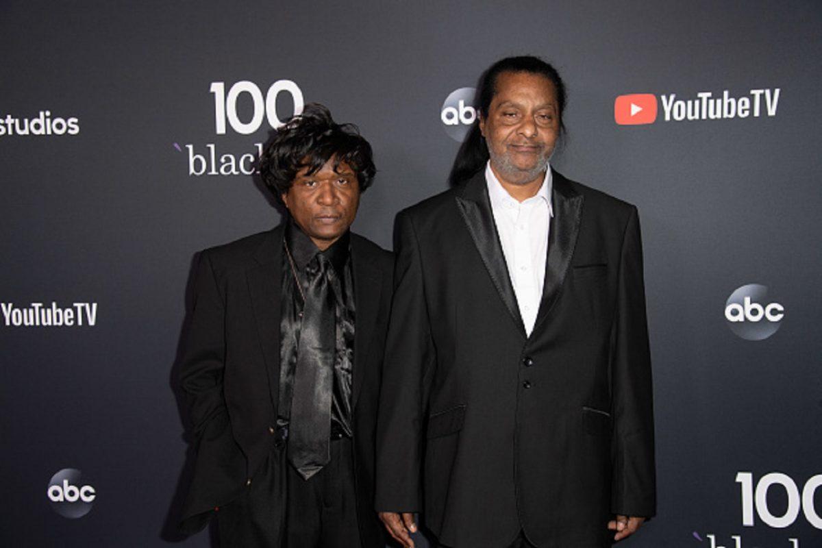 Bruce Jackson and Alfred Jackson attend Black-ish 100th Episode Celebration at Walt Disney Studios in Burbank, Calif.