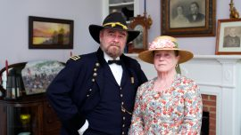 Living History Couple on Respect From Another Era