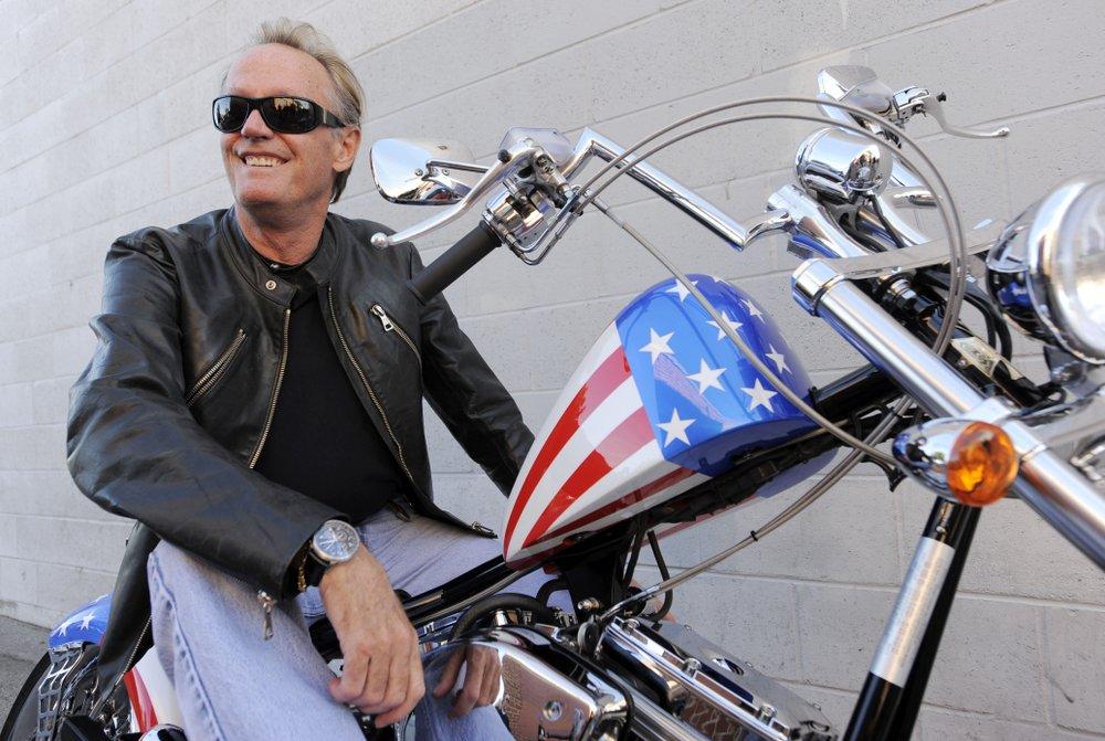 Peter Fonda poses