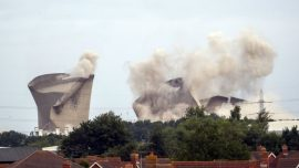 Video Shows Demolition Leveling UK Power Plant Once Named a Top Eyesore