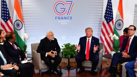 Trump Doesn't Attend the G7 Climate Session, Has Meetings With India and Germany
