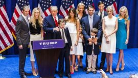Trump Children Bid Farewell on Social Media